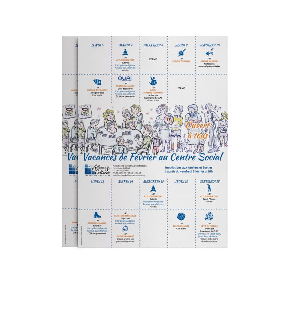 Affiche Programme de Février - Alliances et Cultures