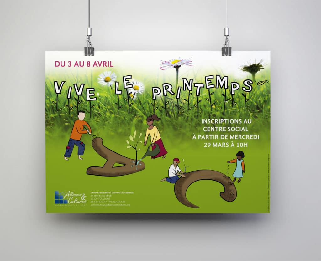 Affiche Programme de Printemps - Alliances et Cultures